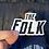 Thumbnail: 'The Folk' Sticker