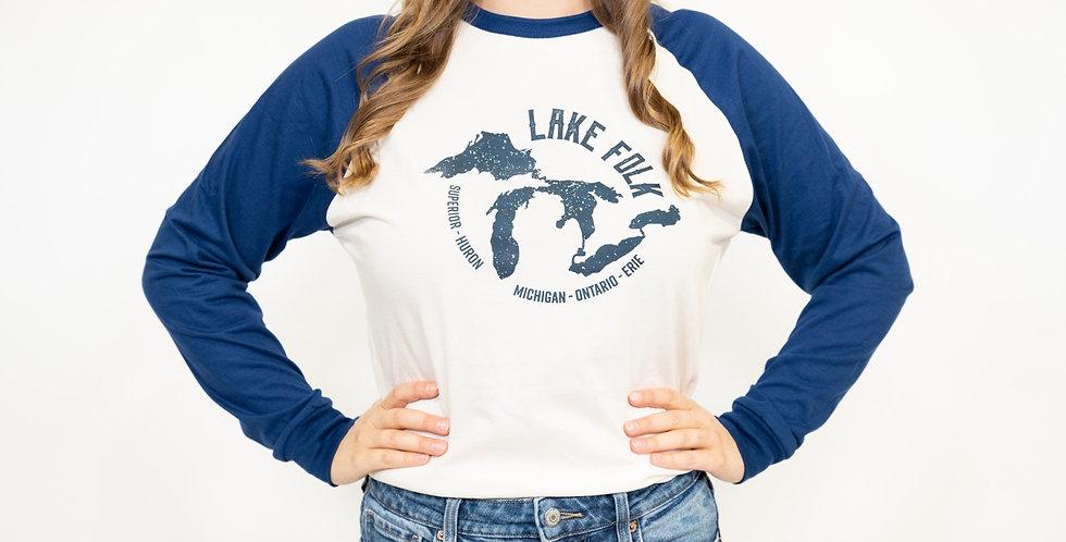 'Lake Folk' Raglan- Made in Canada