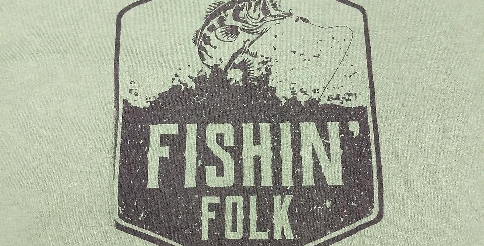 Faded Fishin Folk - XL