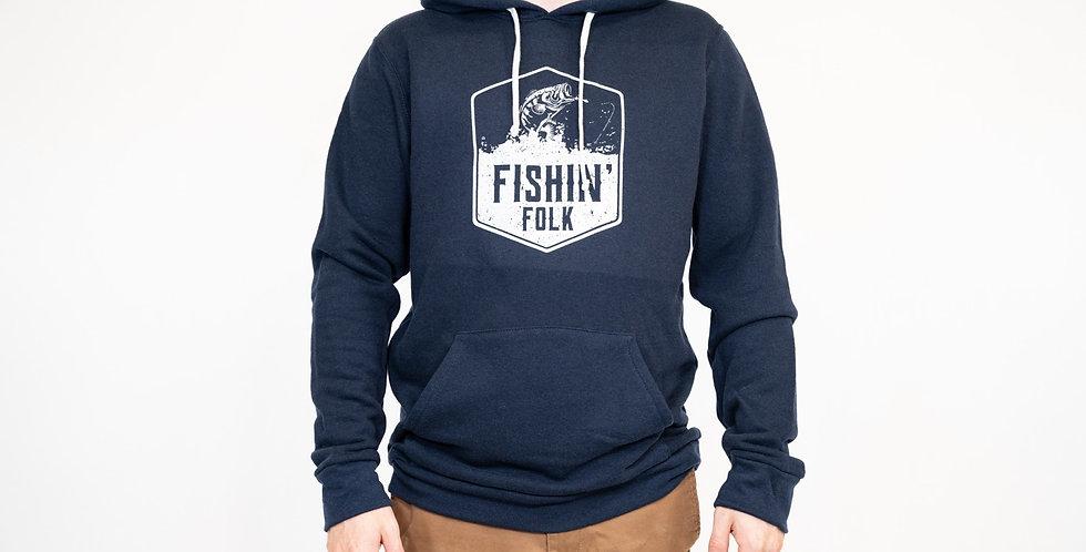'Fishin' Folk' Hoodie- Made in Canada