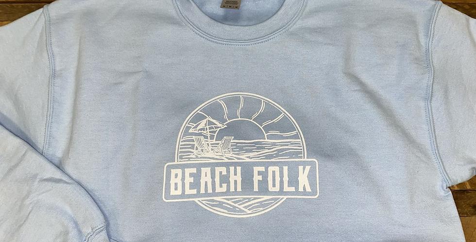 'Beach Folk' Crewneck