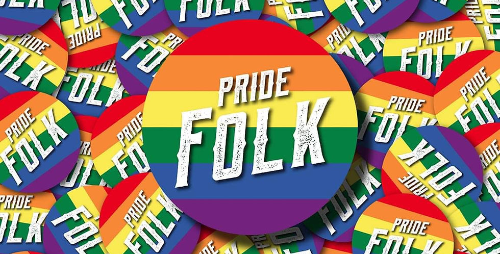 'Pride Folk' Sticker