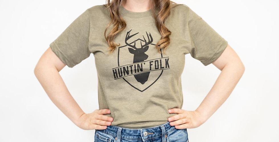 'Huntin' Folk' T-Shirt- Made in Canada