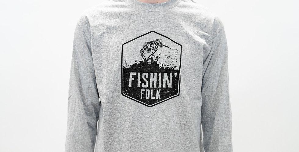 'Fishin' Folk' Long Sleeve