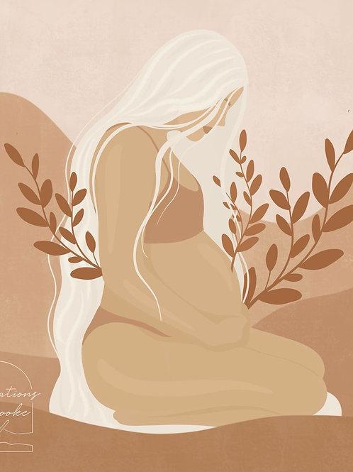 Audio oefeningen cursus zwangerschapsyoga