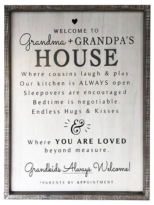 Welcome to Grandma & Grandpas