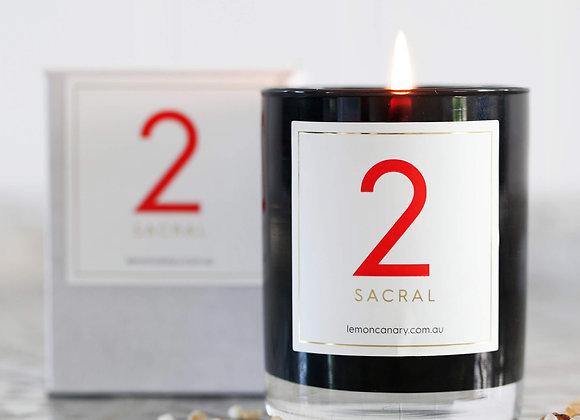 #2 Sacral Chakra Candle