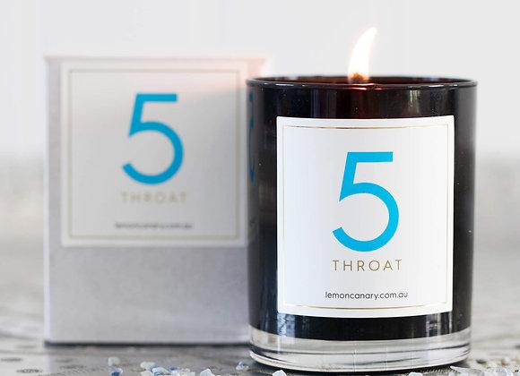 #5 Throat Chakra Candle