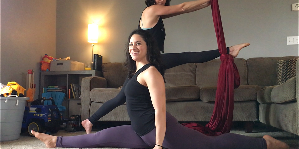 Online Flexibility Class - Social Fitness-ing