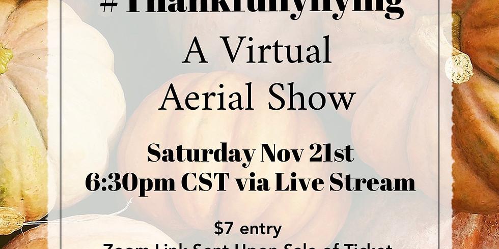 #Thankfullyflying A Virtual Aerial Show