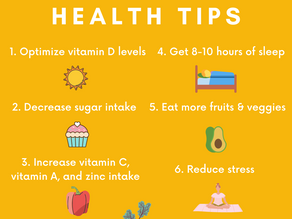 Six Ways to Improve Immune Health