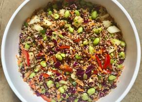 Recipe: Quinoa Edamame Salad
