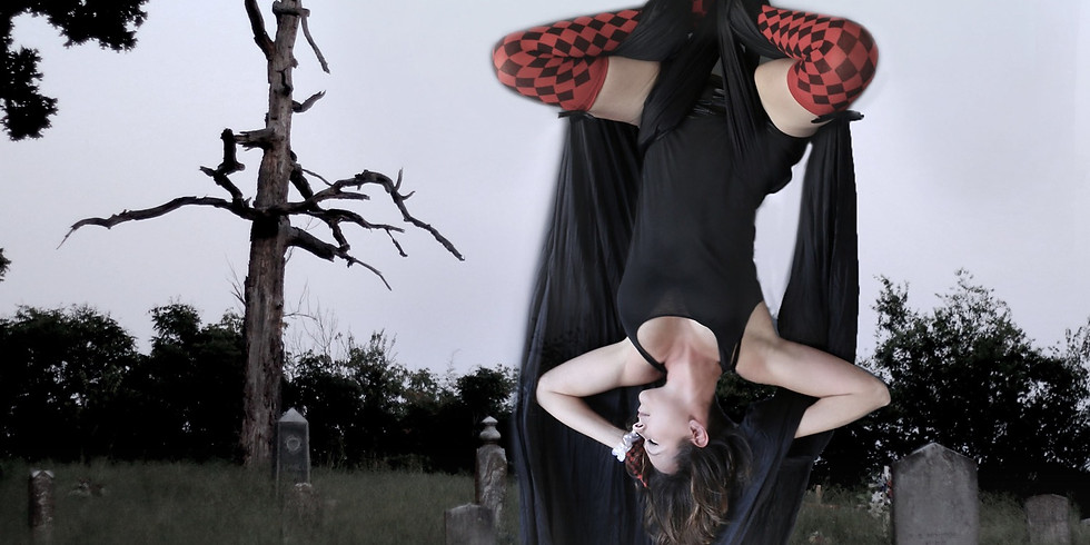 Halloween Aerial Photoshoot