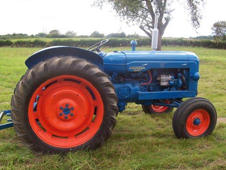 Vintage tractor display confirmed