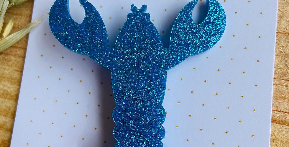 OMAR bleu glitter