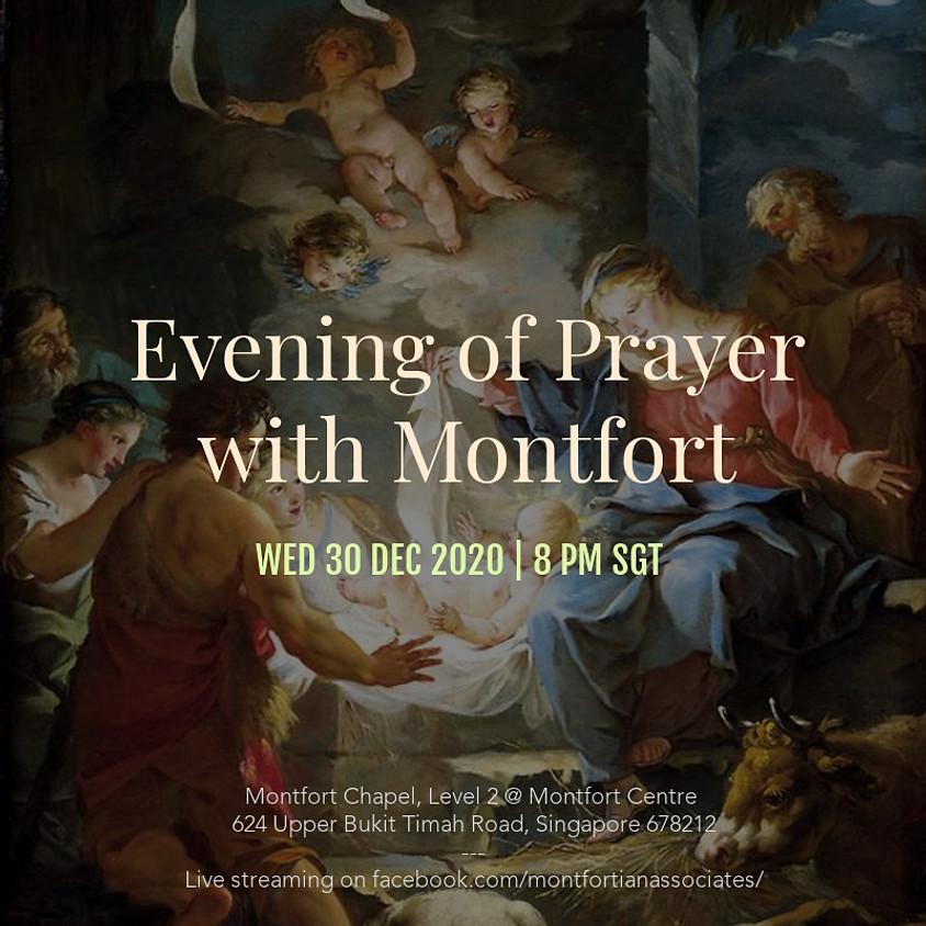 Evening of Prayer with Montfort - 30 December 2020