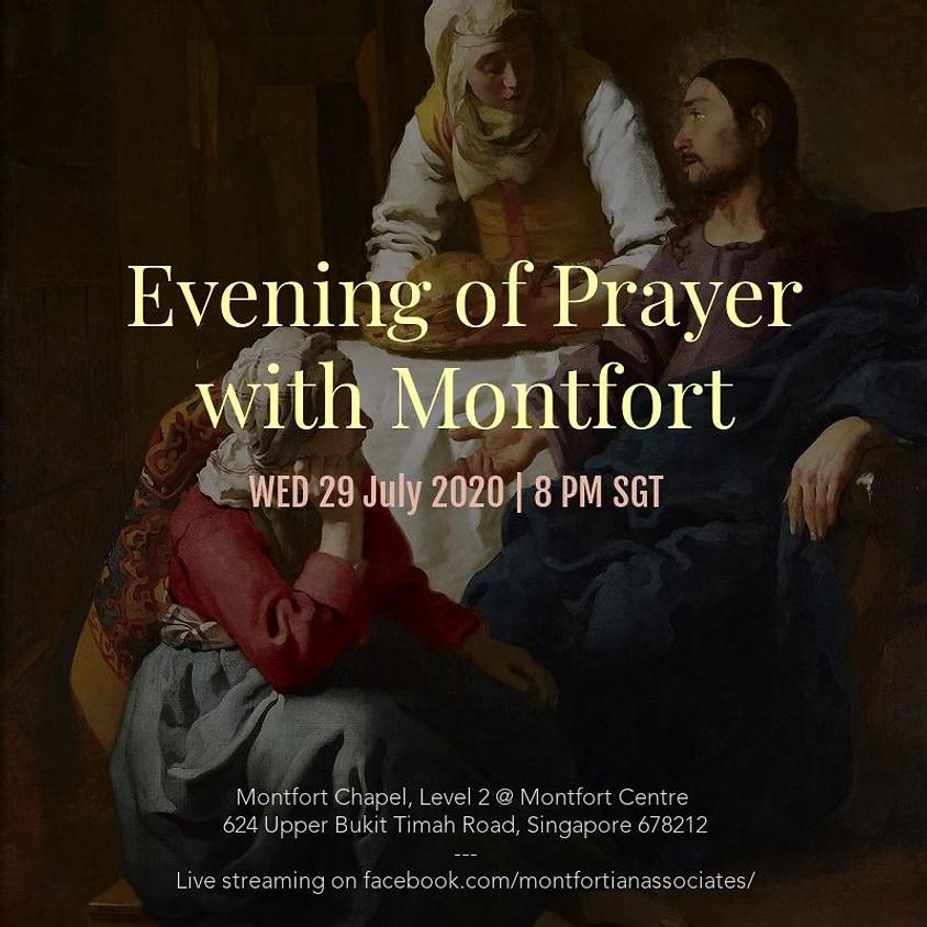 Evening of Prayer with Montfort - 29 July 2020