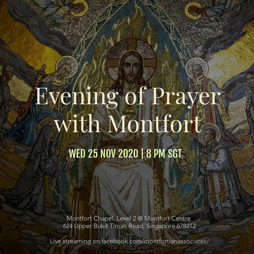 Evening of Prayer with Montfort - 25 November 2020