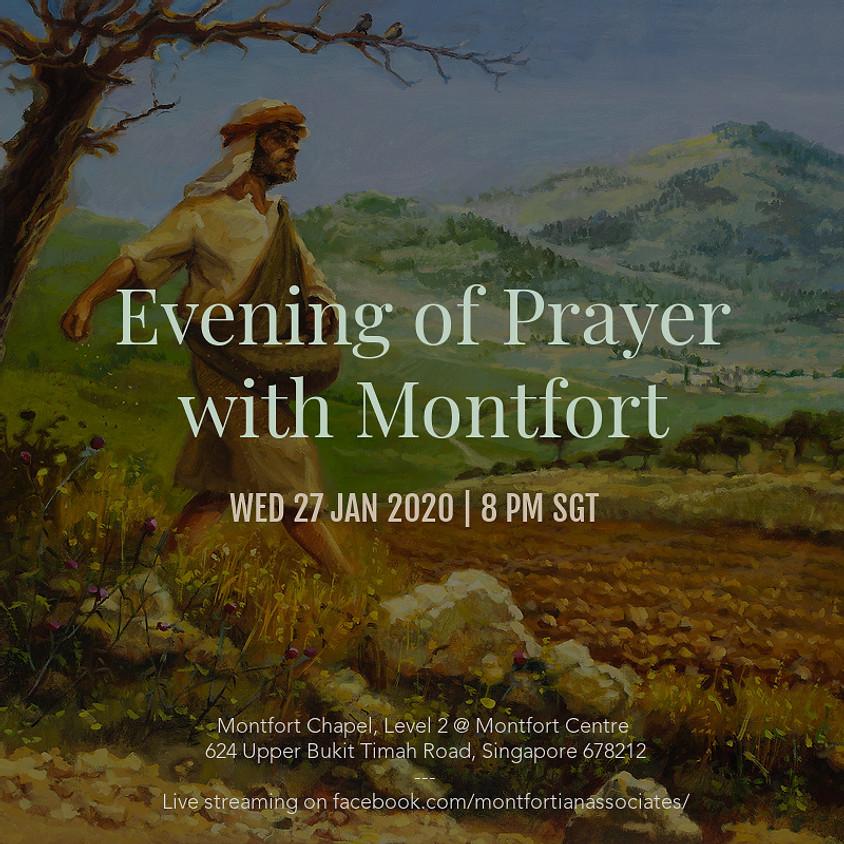 Evening of Prayer with Montfort - 27 January 2021