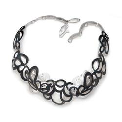 Cloud flowers necklace