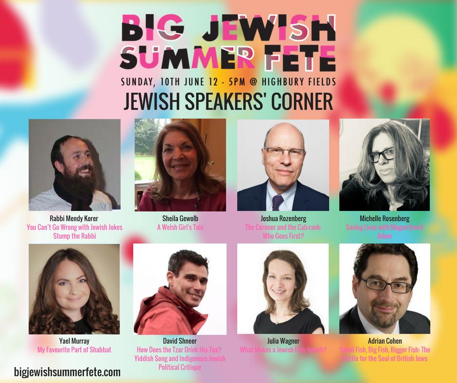 Jewish Speakers' Corner