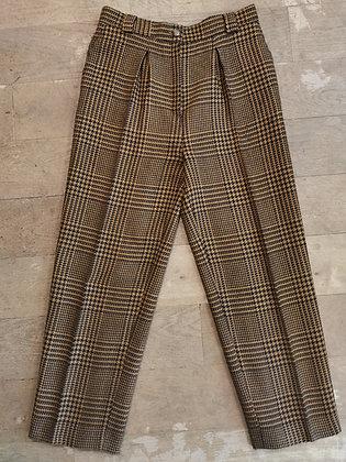 YSL Tartan pants