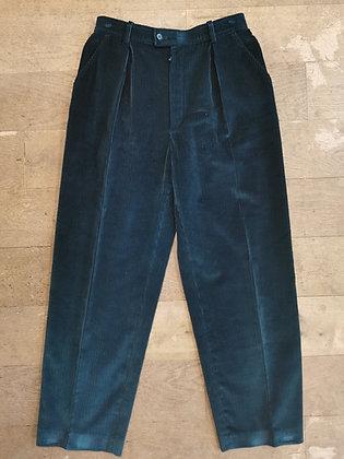 Pantalon côtelé velour YSL