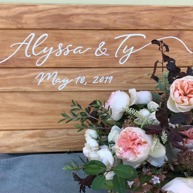"Wedding ""Welcome Sign"""