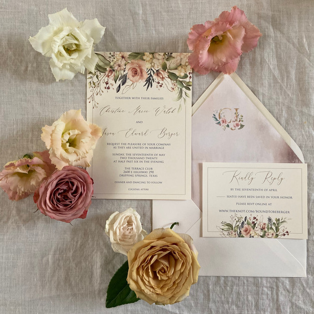 Custom Wedding Invitation - Digital