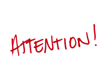 I can not pay attention - 7 Concepts That Will Help You Pay Attention at Work