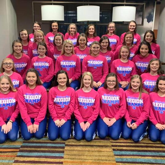 Bell County High Cheerleaders