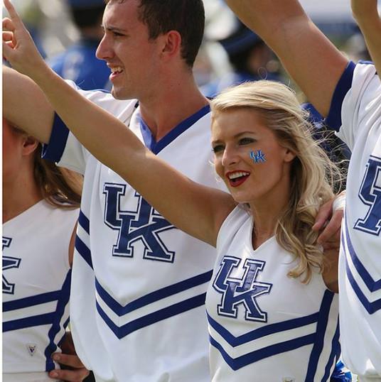 Former cheelreader, Brooke G. University of Kentucky