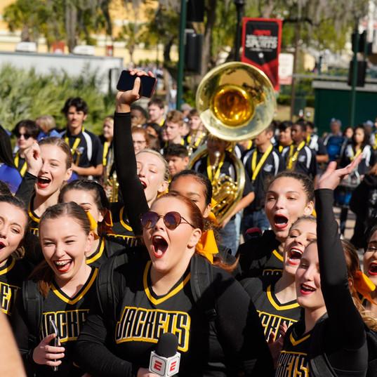 Middlesboro High School Cheer at UCA Nationals