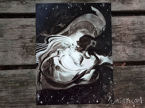 Pisces print (9x12)