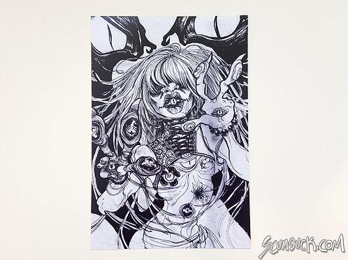 Skeets blind print (4x6)