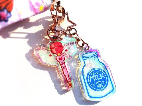 Magical Wand & Mann Milk charms!