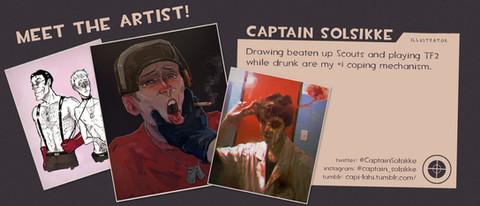 Captain Solsikke