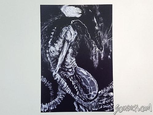 Nosferatu print (4x6)
