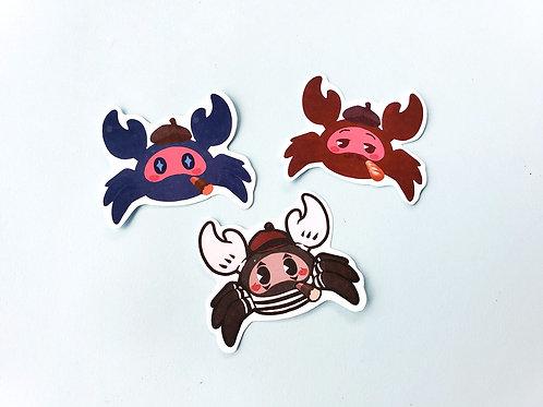 Spycrab stickers!