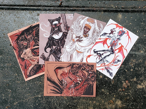 ERO-GURO mini-prints (4x6)