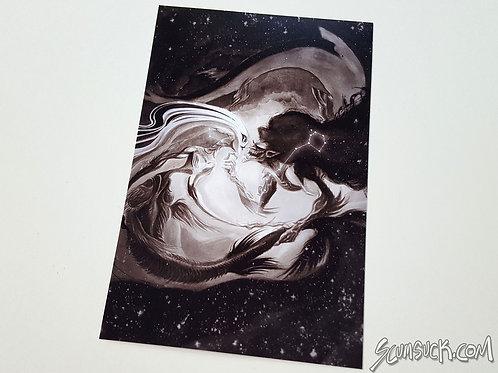 Pisces print (4x6)