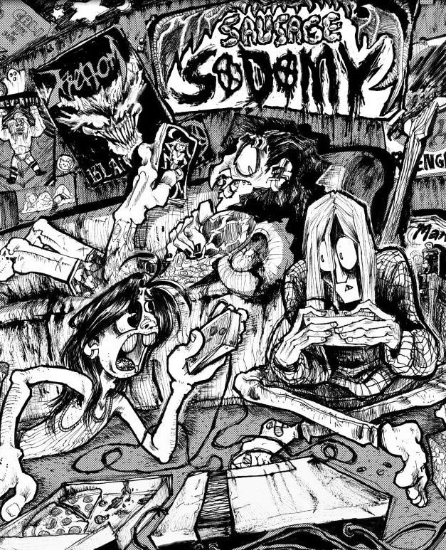 (2014) Sausage Sodomy