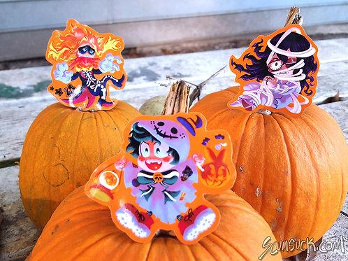 Halloween (Deku, All Might, Aizawa)