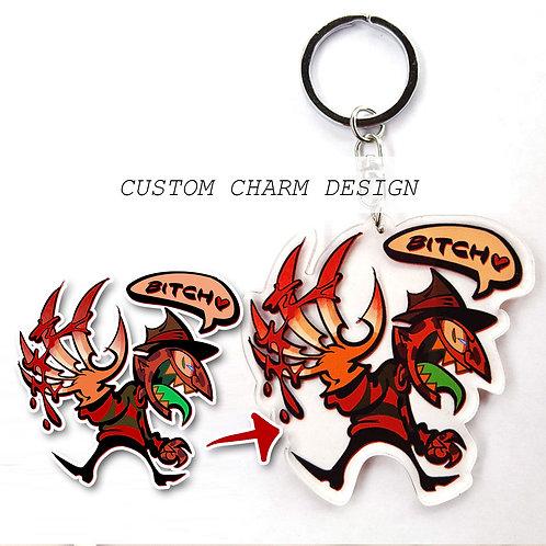 Custom Charm/Keychain Commission