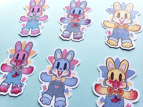 Robbie Rabbit Sticker Sets