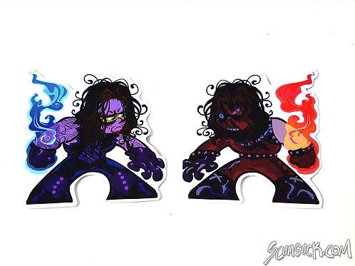 Kane n' Undie stickers