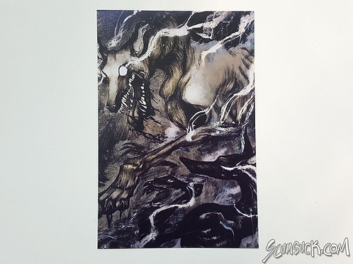 Prophet and Priest dogs print (4x6)