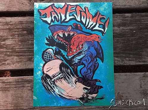 JAWESOME print (8.5x11)