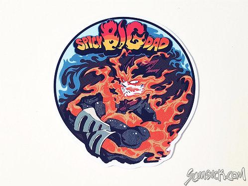 Endeavor SPICY BIG DAD stickers