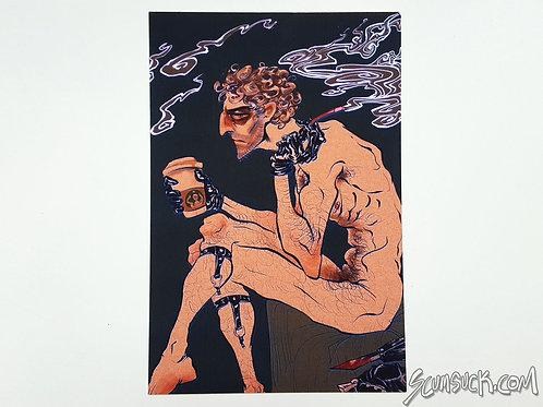 Spy coffee print (4x6)